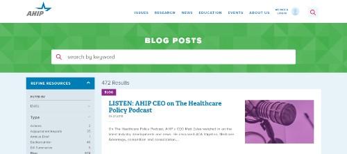 AHIP Blog