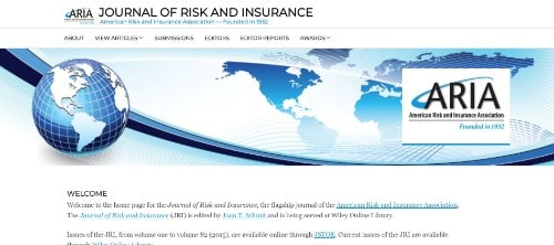 Journal of Risk and Insurance