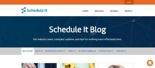 ScheduleIT Blog