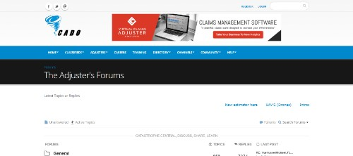 The Adjusters Forums