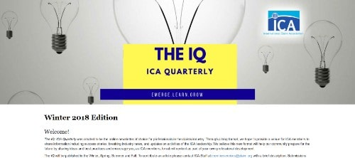 The IQ ICA Quarterly