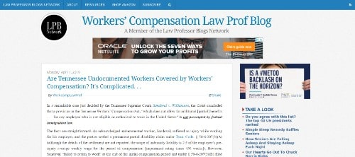 Workers Compensation Law Prof