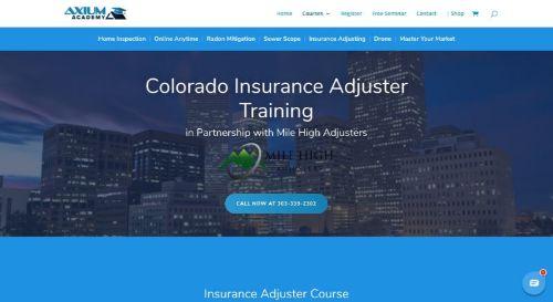 Axium Academy All-Lines Texas Pre-license Course