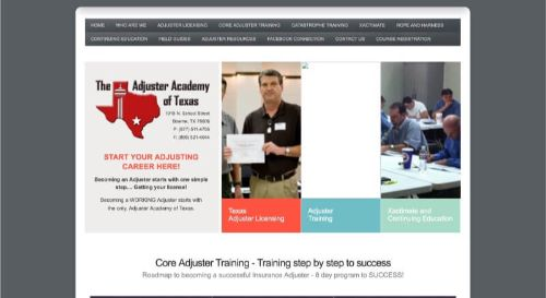 The Adjuster Academy of Texas All-Lines Claims Adjuster Course
