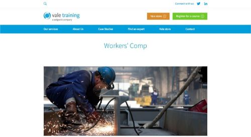 Vale Training Workers' Comp Course